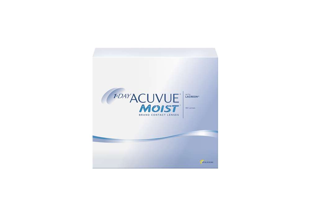 1-Day Acuvue Moist 180l