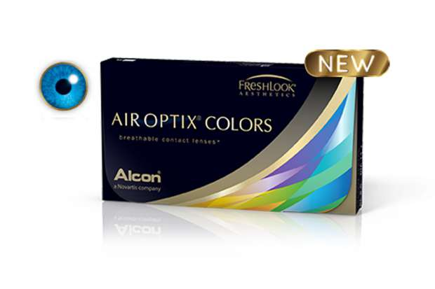 Air Optix Colors Brilliant Blue 2L