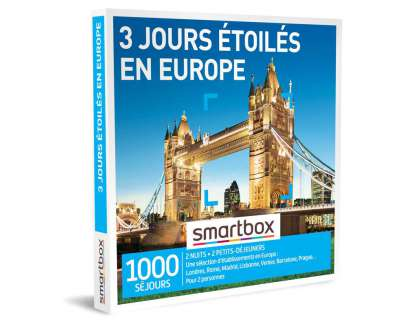 Smart Box - 3 jours étoilés en Europe