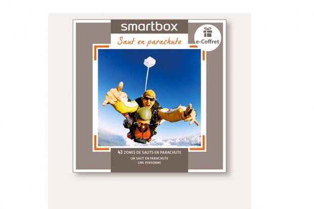 Smart Box E-coffret - Saut en parachute