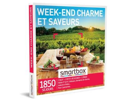 Smart Box - Week-end charme et saveurs