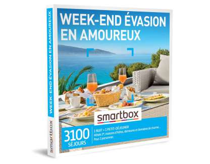 Smart Box - Week-end évasion en amoureux