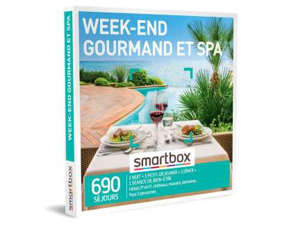 Smart Box - Week-end gourmand et spa