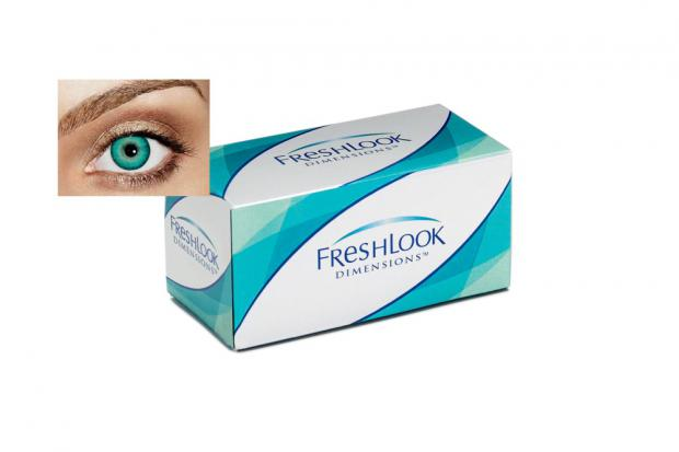 FreshLook Dimensions Blue 2L