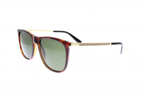 9ee53b70d5eea2 Lunettes de Soleil Gucci Gg 1129 s Qwp pas cher - Optical Discount