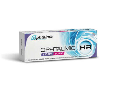 Ophtalmic HR 1 Day Toric 30L