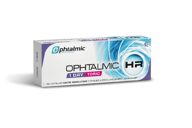 Ophtalmic HR 1 Day Toric 30L