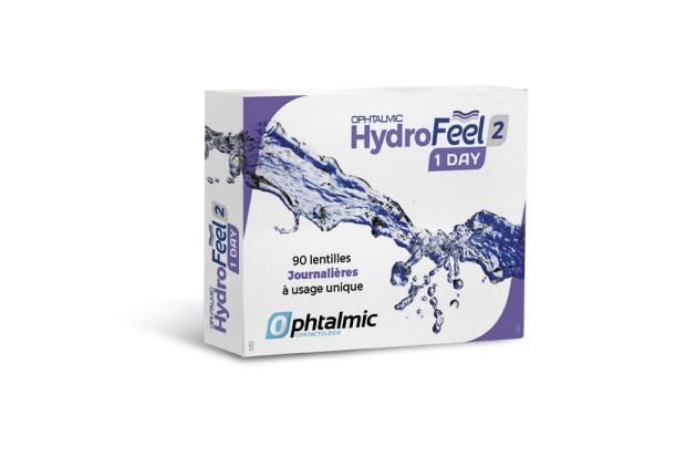 Ophtalmic Hydrofeel 1 Day 90L
