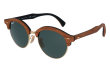 RAY BAN CLUBROUND WOOD RB 4246M 1181/58, image n° 2