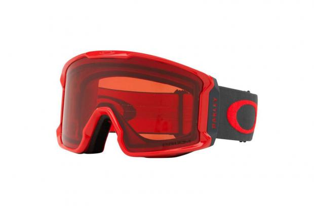 OAKLEY OO7070 39 01 LINE MINER W/ PRIZM ROSE RED FORGED IRON