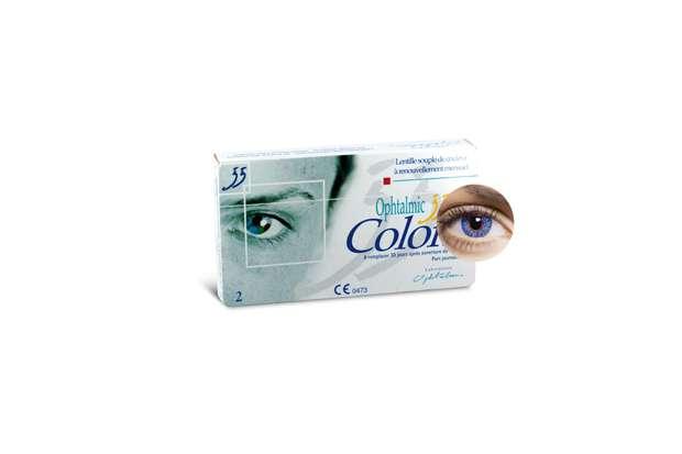 Ophtalmic 55 Colors Bleu 2L