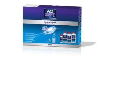 Aosept plus Hydraglyde 3x360ml
