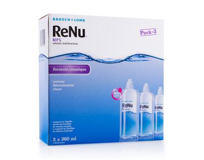 Pack Eco Renu MPS 3x360ml