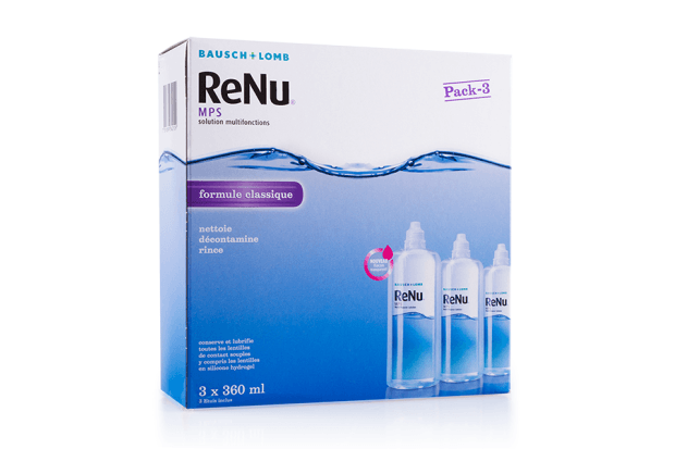 Pack Eco Renu MPS 3x360ml