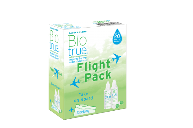 FLIGHT PACK BIOTRUE 2*60ML
