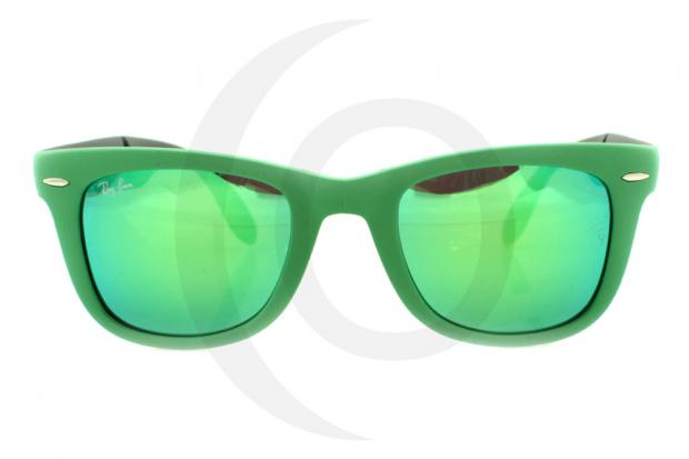 RAY BAN FOLDING WAYFARER RB 4105 6021/19