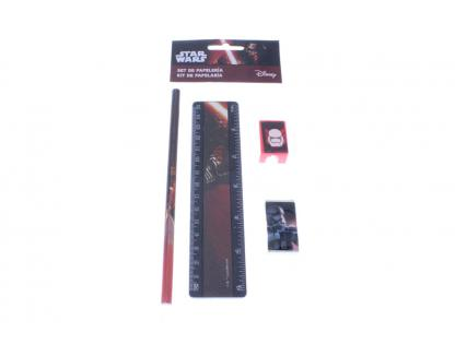Set Papeterie 4 pièces Star Wars